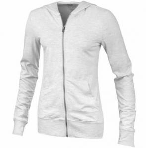 Pullover mit Reißverschluss und Kapuze