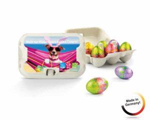 Werbeartikel Ostern: Osterüberraschung im Eierkarton
