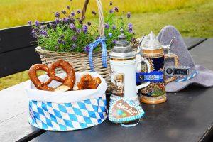 Oktoberfest Geschenke: Maßkrugmarker mit Logo