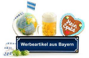 Bayerische Werbeartikel mit Ihrem Logo bedrucken und auffallen.